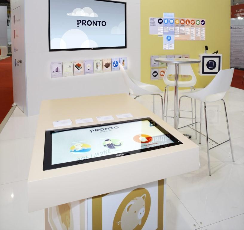 Pronto Custom Stand Touchscreen