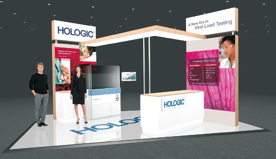 Hologic Custom Stand Design